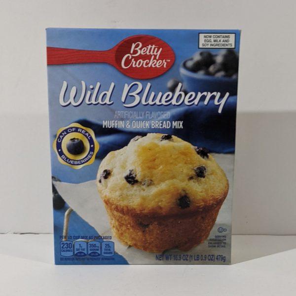 Betty Crocker Wild Blueberry Muffin & Quick Bread Mix - 21.00