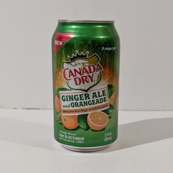 Canada Dry Ginger Ale and Orangeade - 7.00