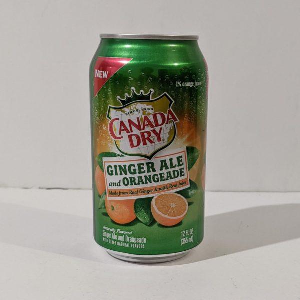 Canada Dry Ginger Ale and Orangeade - 7.00