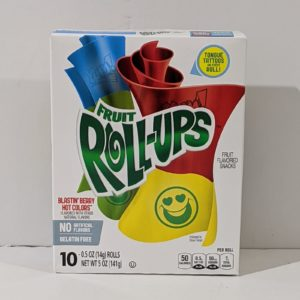 Fruit Roll-Ups Blastin' Berry Hot Colors - 15.00