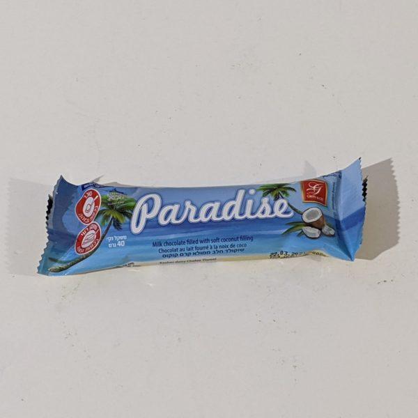 Paradise chocolate bar - 4.00