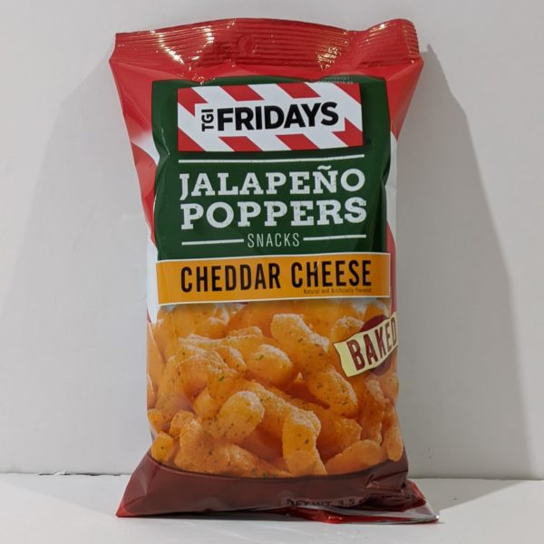TGI Fridays Jalapeno Poppers Snacks Cheddar Cheese - 14.00