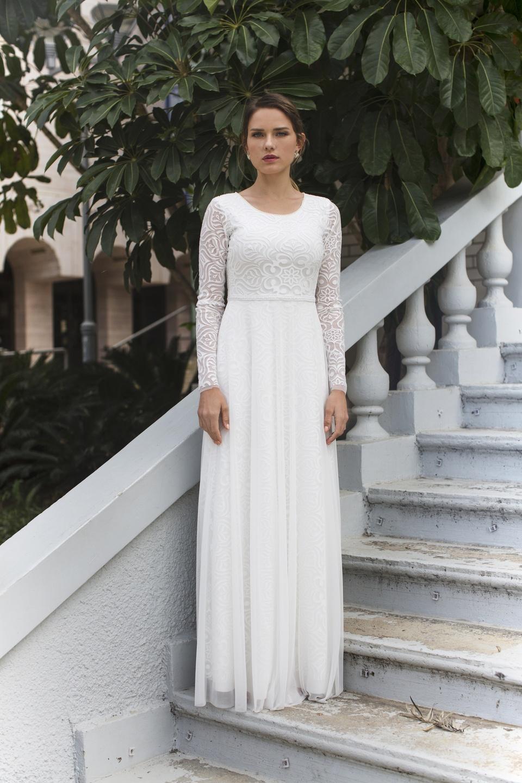 סטודיו לעיצוב שמלות כלה בשומרון נחמה הס ועדי קולקציית 2019 Студия дизайна свадебных платьев в Самарии Nehama Hess and Adi