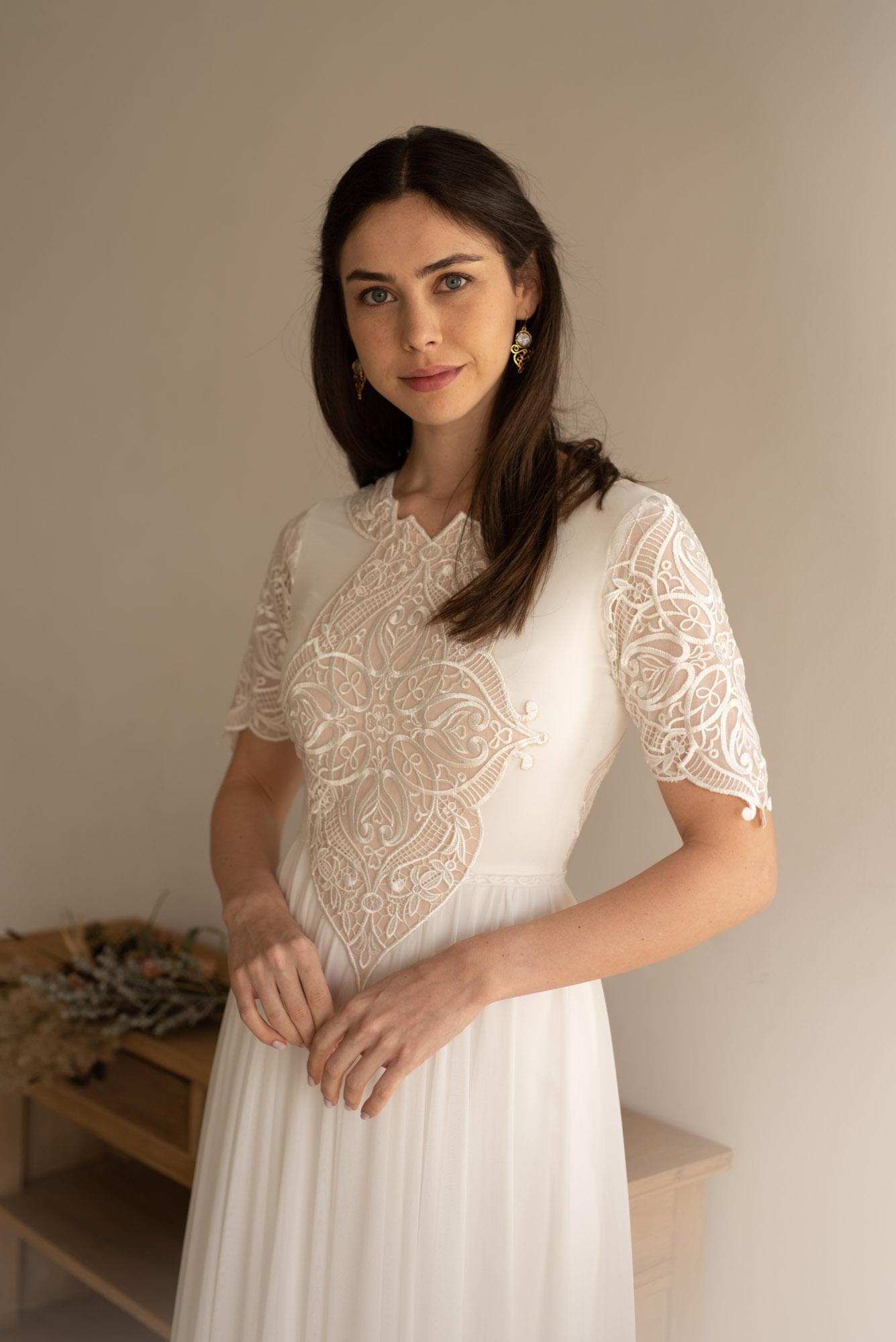 סטודיו לעיצוב שמלות כלה בשומרון נחמה הס ועדי קולקציית 2020  Студия дизайна свадебных платьев в Самарии Nehama Hess and Adi