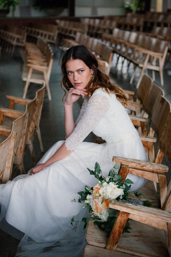 סטודיו עיצוב שמלות כלה בשומרון של נחמה הס ועדי קולקציית 2018 Студия дизайна свадебных платьев в Самарии Nehama Hess and Adi