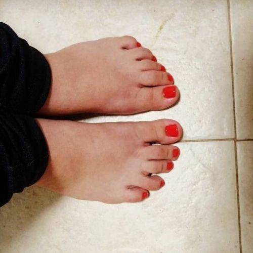 לק ג'ל ברגליים